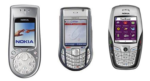 Nokia 3650 - Nokia 6630 - Nokia 6600