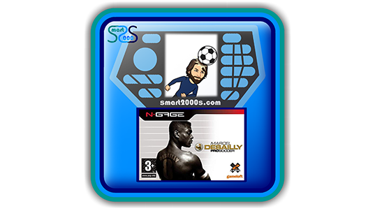 Marcel Desailly Pro Soccer - 2000s game for N-Gage