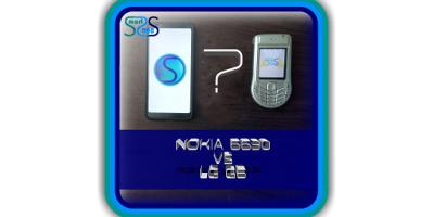 LG G6 VS Nokia 6630 - Comparing Review