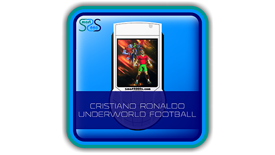 Cristiano Ronaldo Underworld Football - 2000s Game for Java